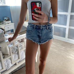 Volcom brand Jean shorts